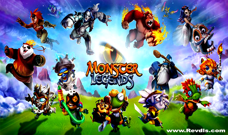 Monster Legends Mod Apk