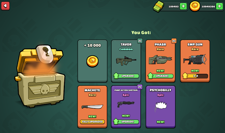 collect awesome rewards