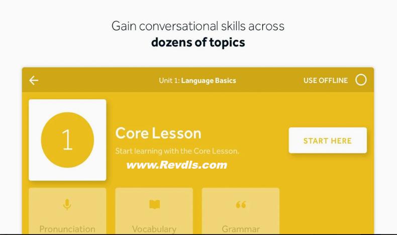 Learn Languages Rosetta Stone Mod Apk