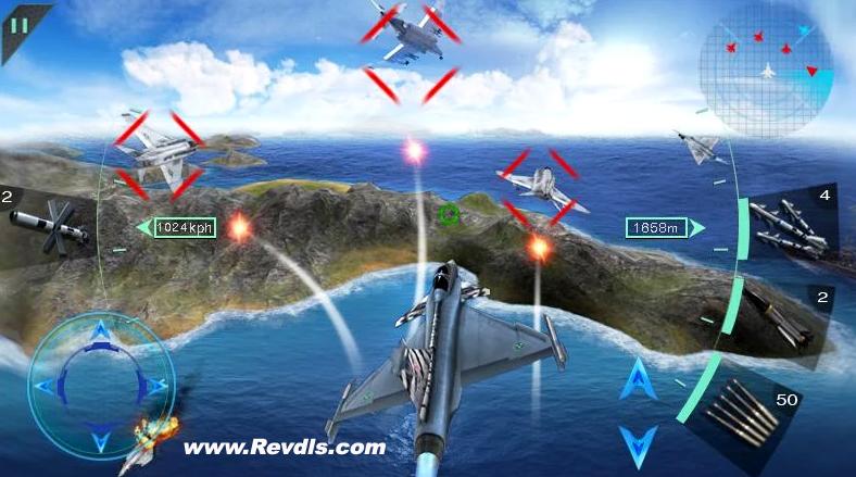 Sky Fighters 3D Mod Apk