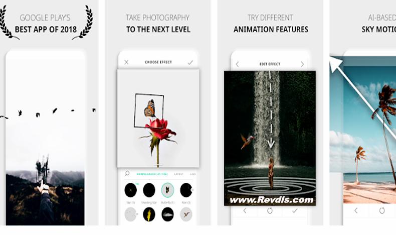 VIMAGE Cinemagraph and Living Image Animation Apps Premium Mod APK