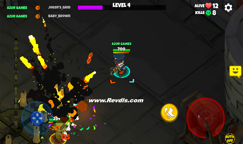 Warriors.io - Battle Royale Action Mod Apk